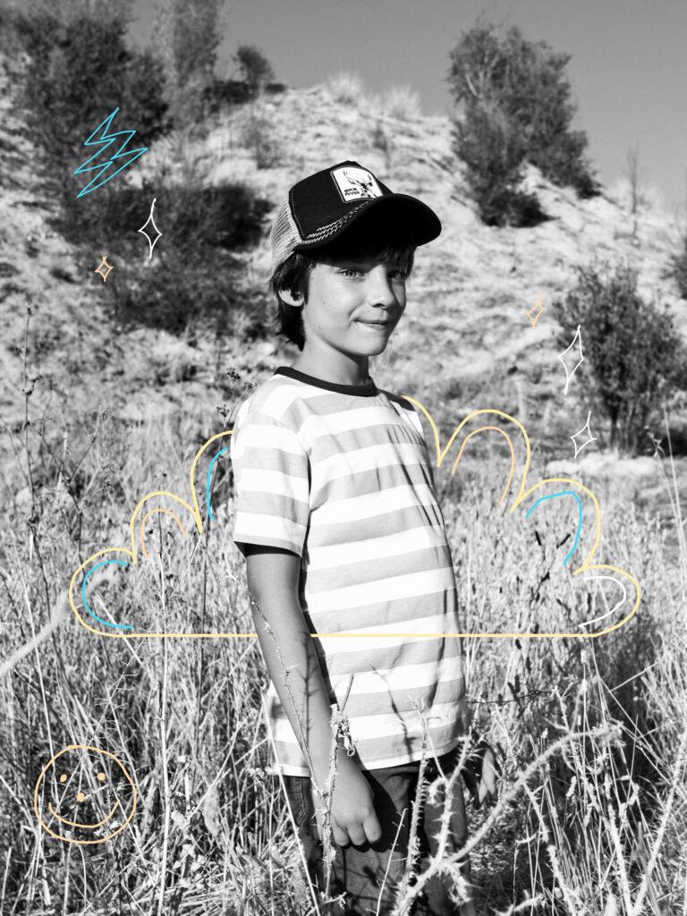editorial fotografía infantil