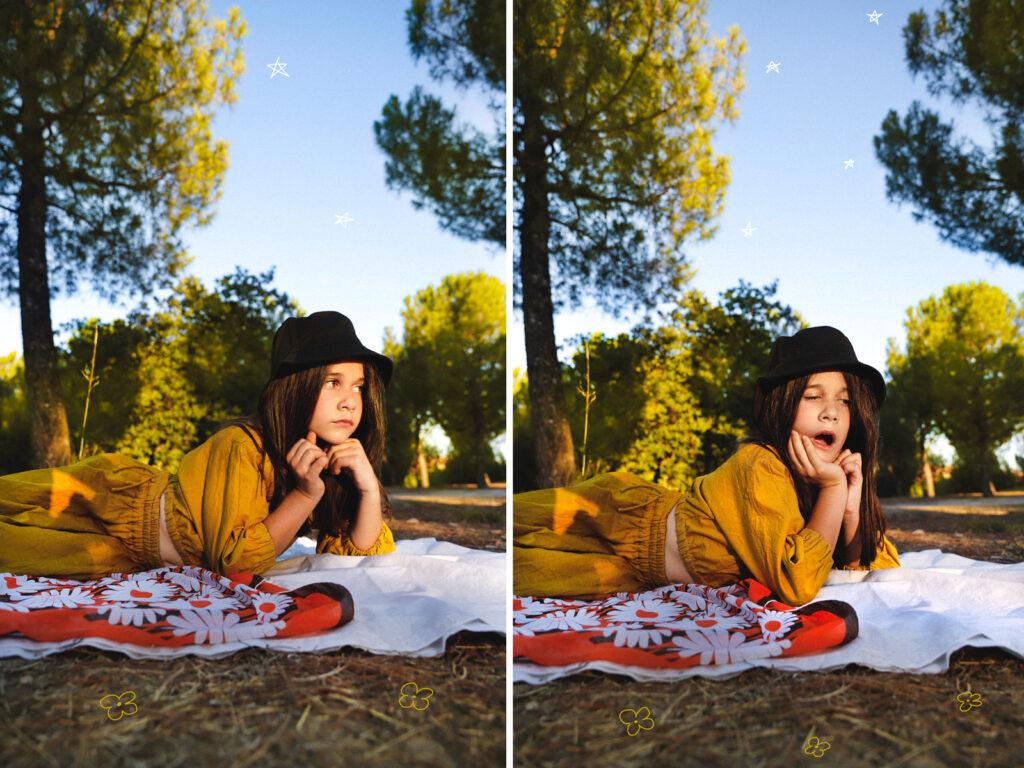 fotografía infantil editorial