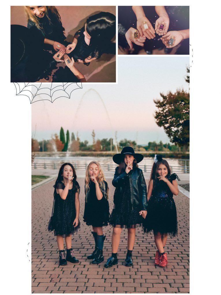 fotografía infantil editorial halloween