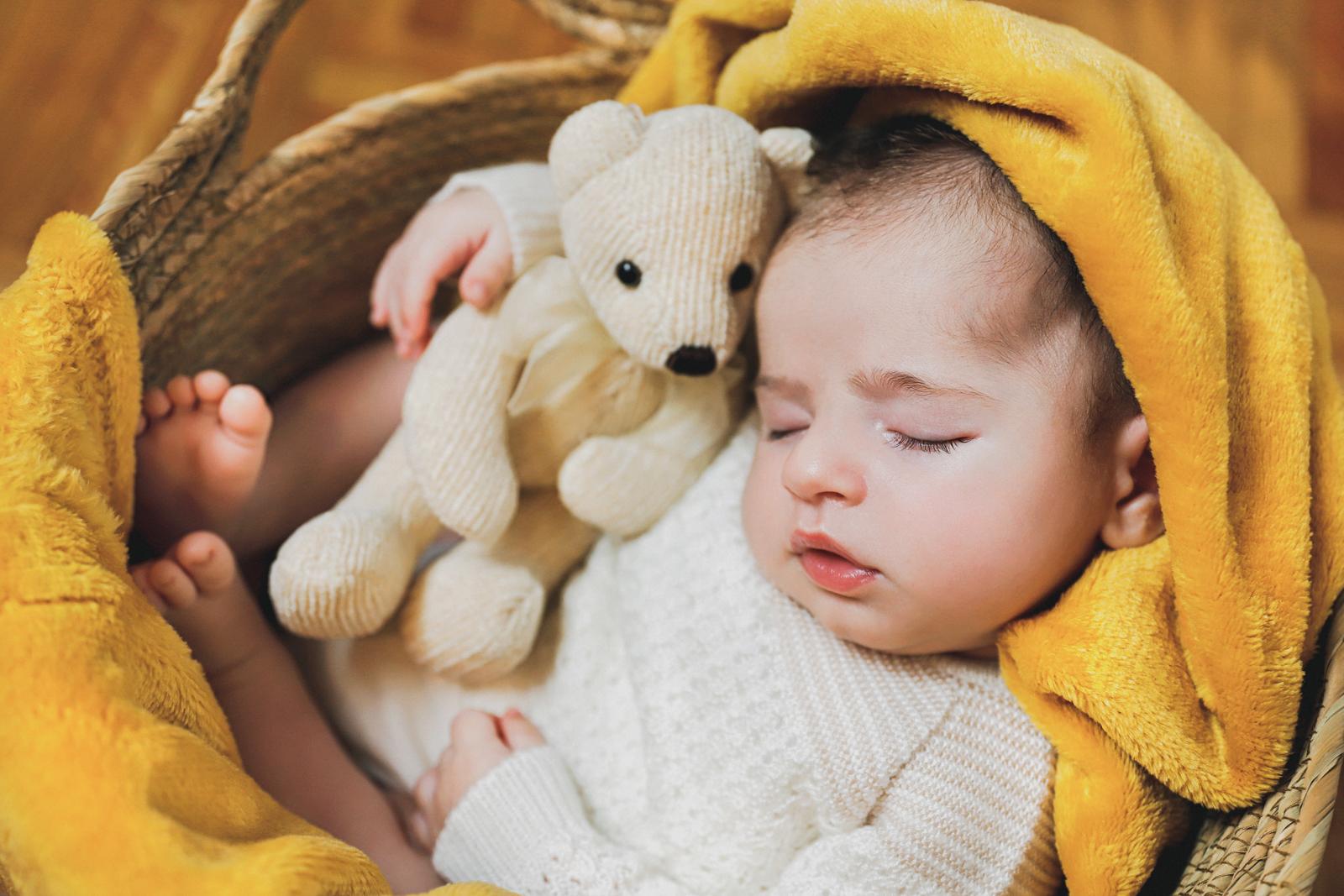Cómo hacer una sesión de fotos newborn en casa